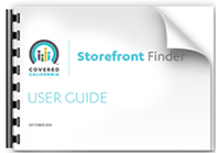 link to Storefront Finder User Guide PDF file